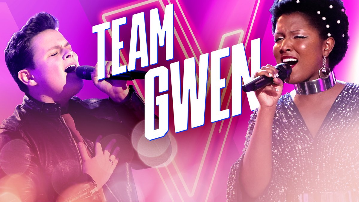 "#TeamGwen's @carterjrubin & @thechloehogan will have you saying ""WOW."" 🤩 #VoiceKnockouts"