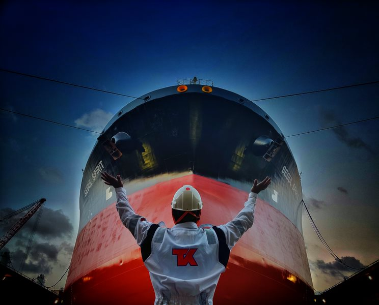 test Twitter Media - #TeekaySpirit from all angles!   📷: The Seoul Spirit in drydock captured by Second Officer Mohit. https://t.co/wXQiyeI9dT