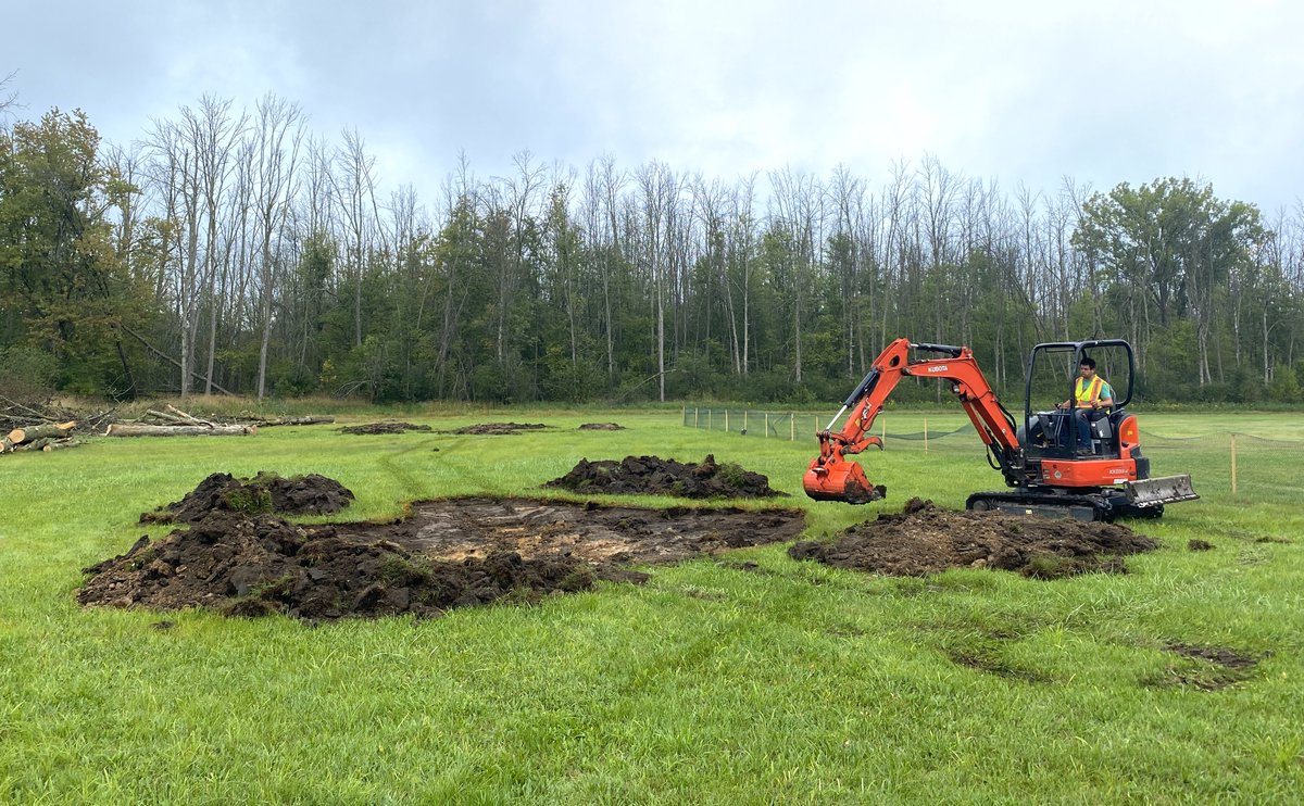 Awesome work to all those involved! #Conservationmatters #Sustainability  Can't wait to see the finished site  @greenbeltca @ConservHalton  👏🌳🥜💚