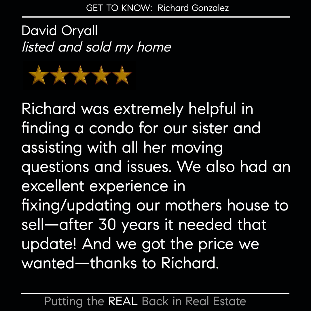 "Another Satisfied Client and now Friend!!   Serving the Central Coast with over 900 Transaction sides  **Putting the ""REAL"" back in REAL Estate!**  Richard Gonzalez Compass (805) 268-4407 Richard@RichardHasHomes.com  #pismobeachRealestate #Realty #centralcoastRealtor #Realestate https://t.co/IKKgHIyDLs"