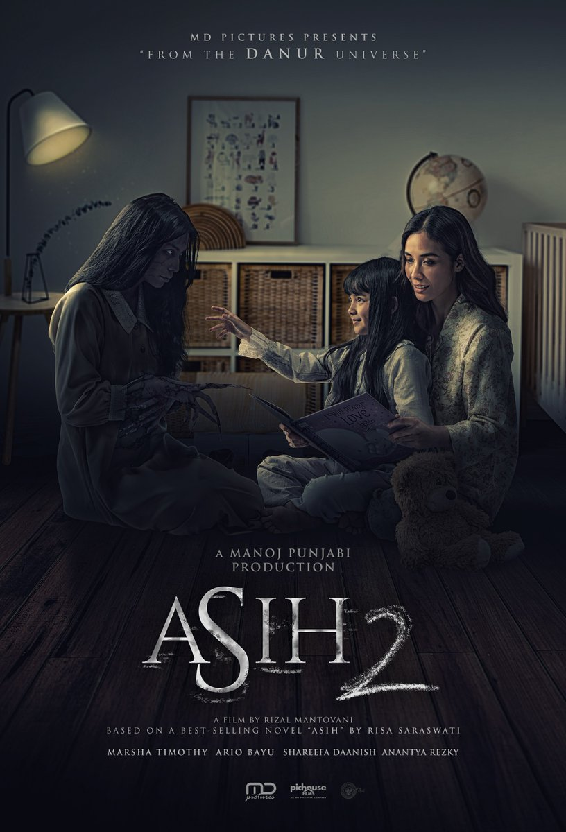 Teror Asih belum selesai, dia kembali datang 😱  #ASIH2 akan menghantui Sobat XXI mulai 24 Desember 2020 di Cinema XXI!  Siapa yang udah gak sabar? Tag temanmu biar gak ketinggalan infonya yaa 👇