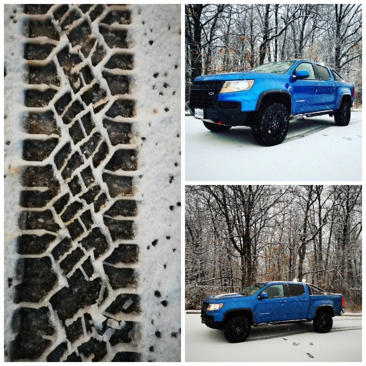 Following the elusive tracks of the 2021 Chevy Colorado ZR2. Having a great time playing in the snow today.  #findnewroads @chevroletcanada #chevy #chevycolorado #chevycoloradozr2 #snow #snowtracks #tracks #photooftheday #photography @huaweimobilecan #prophotographer #testdrive