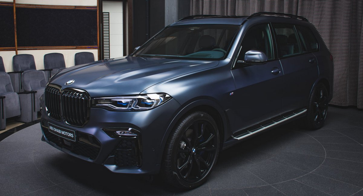 Limited Run BMW X7 Dark Shadow Edition Is A One Of 500 Offering https://t.co/wytfT1M59p #news #BMW https://t.co/GmQrSJIeE5
