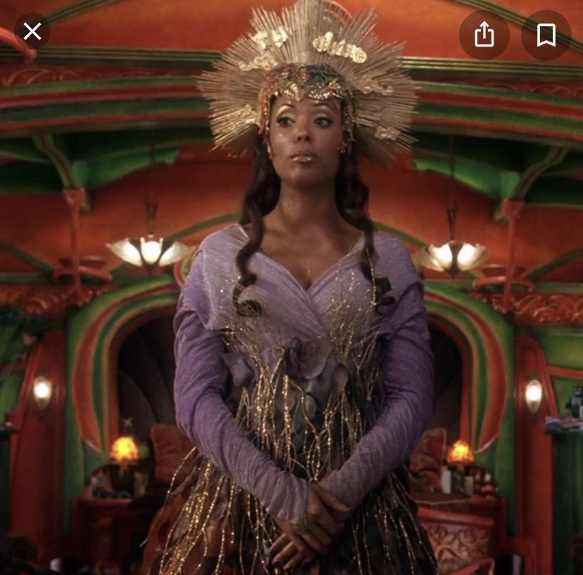 Tyra out here tryin lookin like Mother Nature from the Santa clause 2  ... what is she wearing!!! #DWTSFINALE