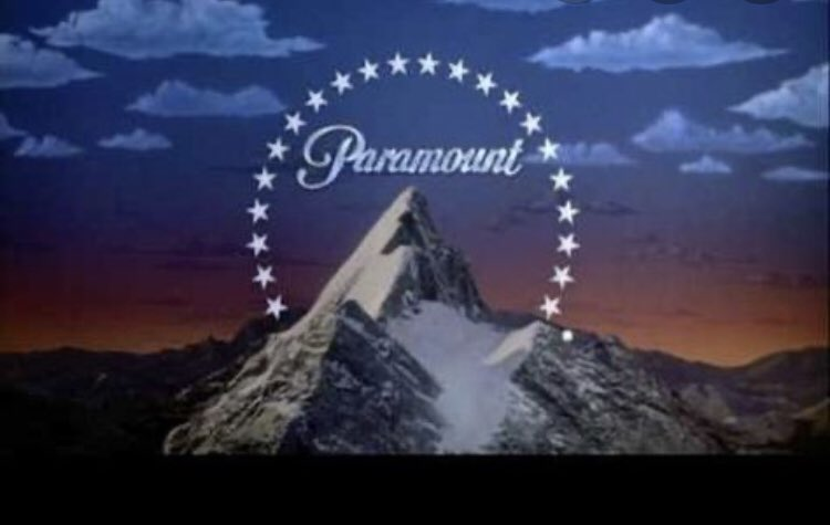 Tyra, the Paramount logo as a headpiece is an interesting choice. #DWTSFINALE