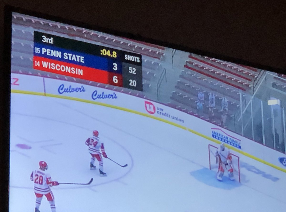 Hey @Buccigross - This is perhaps the most 2020 #Hockey stat line possible, but since @BadgerMHockey is on top of the ledger side that counts, I am simply giddy! Way to go boys! #Badgers #OnWisconsin #CawlidgeHawkey @CreaseCreatures