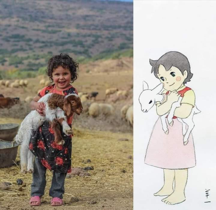 A Syrian beautiful little girl... she reminds me of Heidi https://t.co/I16WfXQPjO