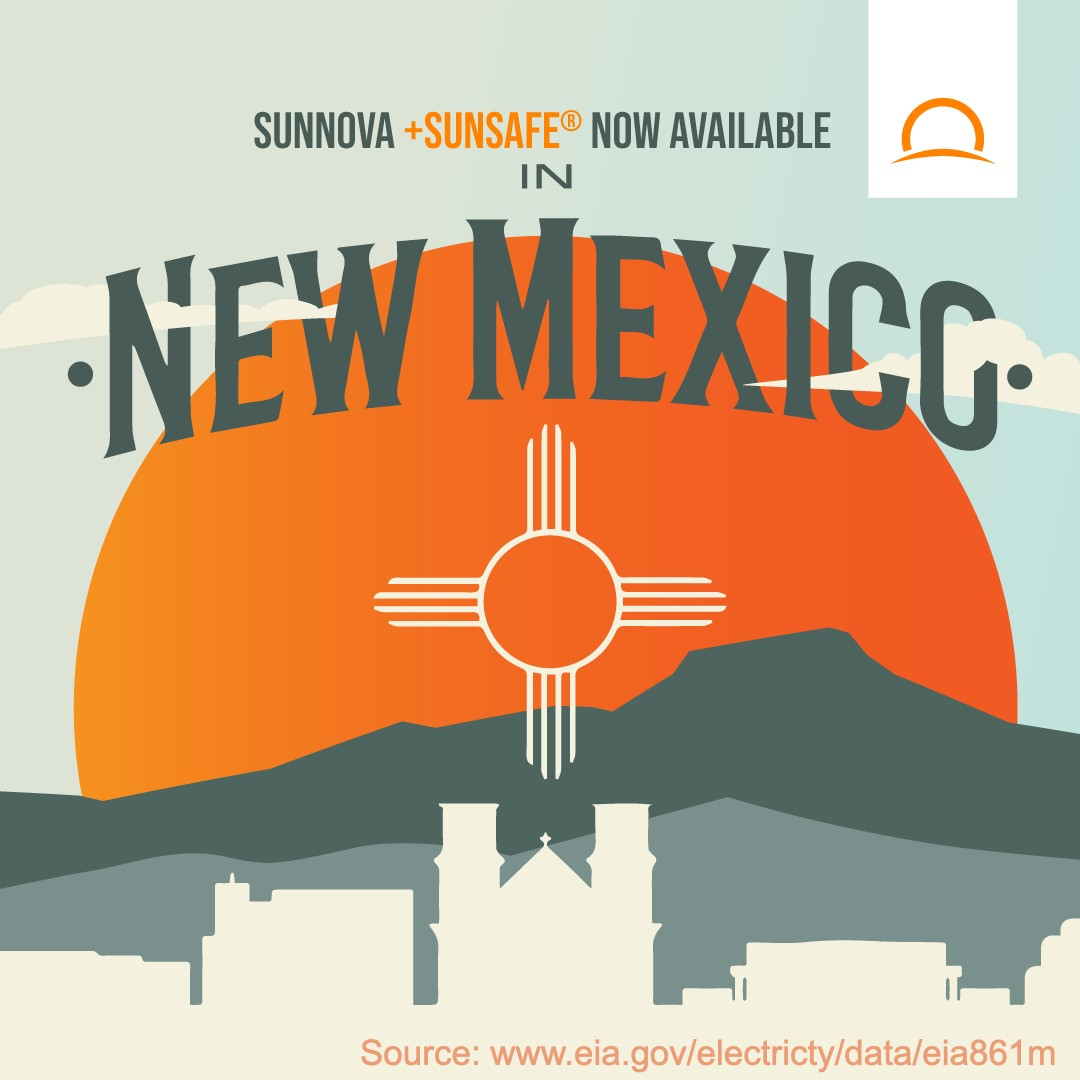 test Twitter Media - #DYK #NewMexico residents experienced a 26% increase in electricity rates from 2008-2018, according to @EIAgov? Learn how Sunnova SunSafe® #solar + battery storage service helps you get a better energy service at a better price https://t.co/iXHE57caUM https://t.co/C4EtLTtmFR