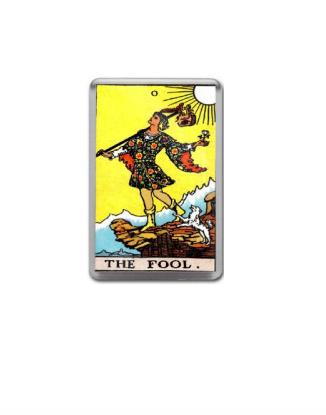 #TrumpTheFool   I wish I had the photo-shopping skills to put trump's face into this tarot card.