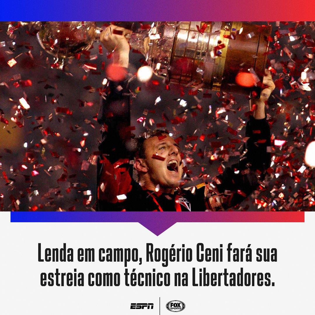 Será que o sucesso vai se repetir do lado de fora das 4 linhas, fã de esportes? 🏆  Não perca: Racing x Flamengo, a partir das 21h30, AO VIVO no FOX Sports!   #LibertadoresNaESPN #LibertadoresFOXSports #FutebolNaESPN https://t.co/kiWAzsHvdT