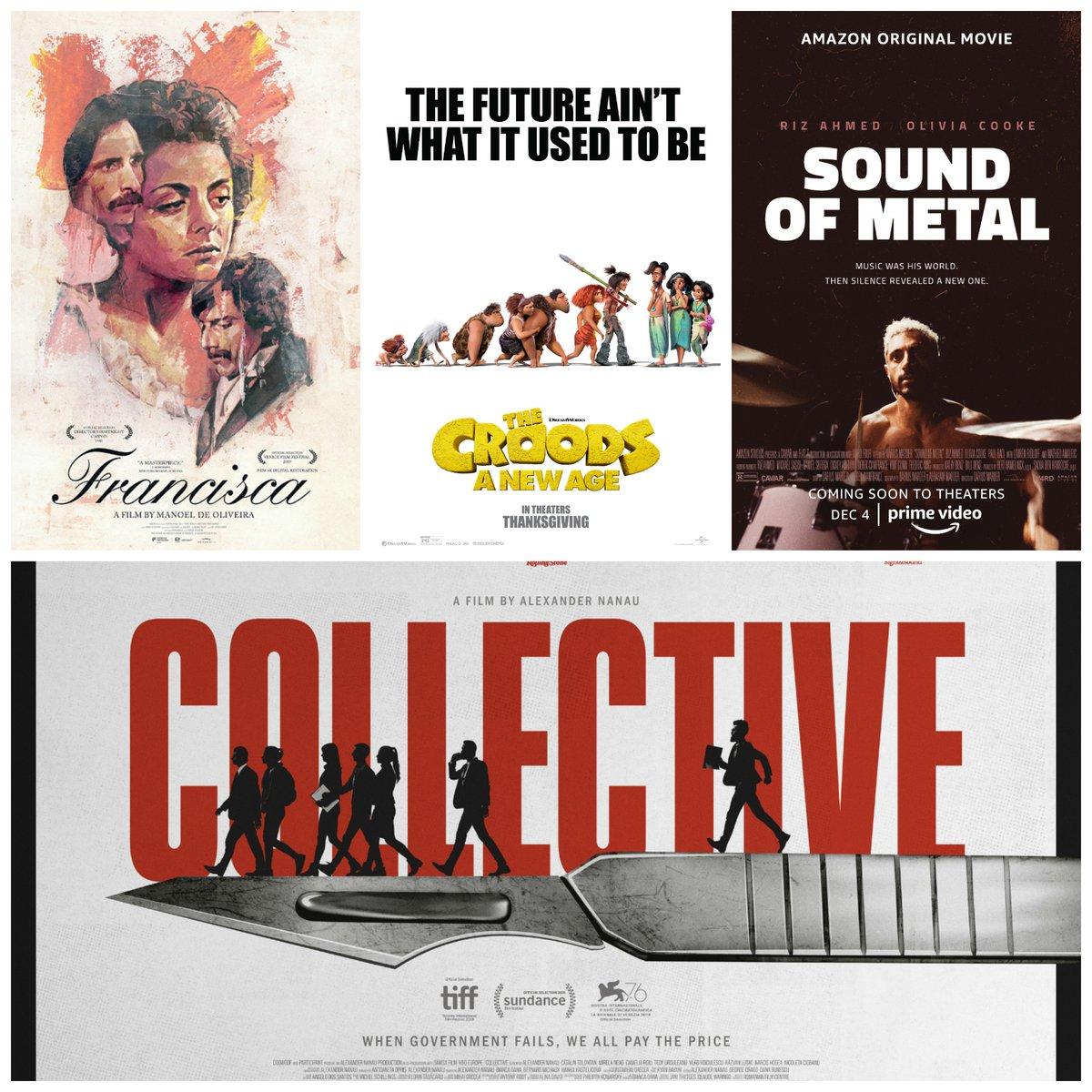 New episode!  #CroodsNewAge #SoundofMetal #CollectiveFilm #Francisca