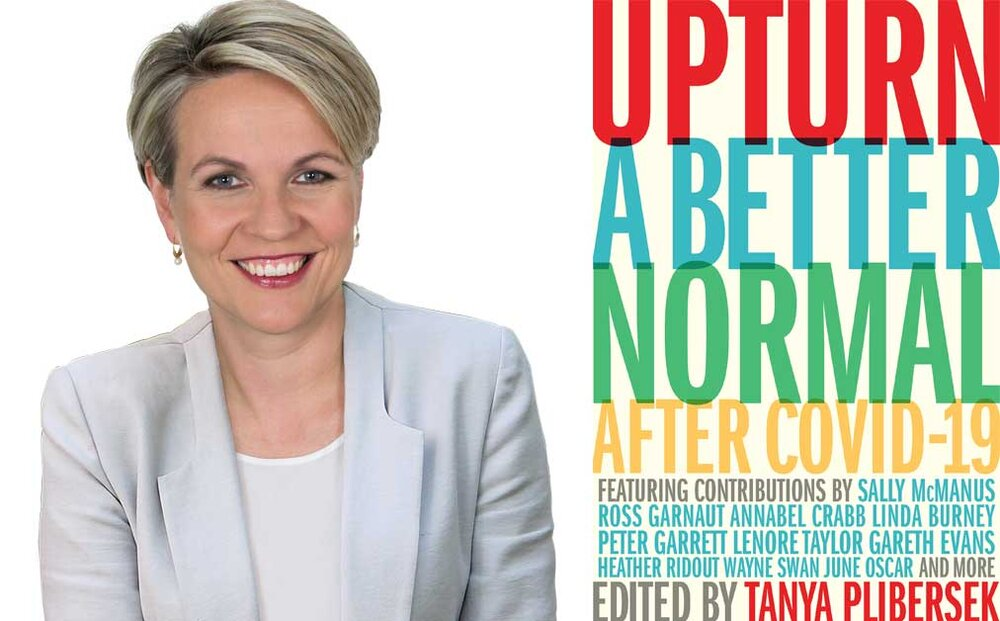 In her new book  #Upturn,  @tanya_plibersek focuses upon a green recovery as part of a  #COVID19 recovery plan  https://www.booktopia.com.au/upturn-tanya-plibersek/book/9781742237206.html  @NCTCE2021  #vctce2020  #cleantech  #cleanenergy  #climate  #auspol  #auslaw