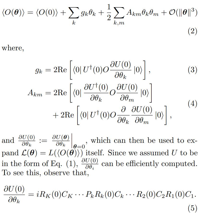 二次Clifford展開でVQEベンチマークと初期化Cliffordゲートと1bit回転ゲートR(θ)(θ=0でClifford)から成るAnsatz用意→観測量Oをθ=0で2次展開1次,2次展開係数g,Aは古典計算可能2つの使い道1:θ=0付近の摂動値取得2:Aの擬似逆行列から最適パラメタ取得#必要になったら読む