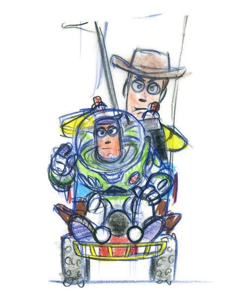 Seguimos festejando el 25 aniversario de Toy Story con este #EstudioAnimation🖌especial en donde les dejamos el arte conceptual de la primera película en la historia de Pixar. Pueden ver la galería completa, aquí:  #ToyStory25 #Pixar💡