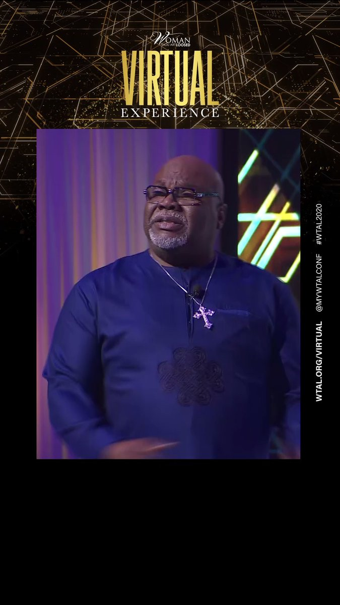 We can't go forward in God's Great Commission if we're still staring at where God was. We went #BackAroundFullCircle at #WTAL2020, and you can rewatch it on YouTube.com/TDJakesOfficial #TDJOnline