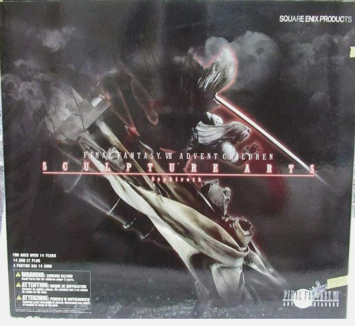 """Looking for the box for the Final Fantasy VII Advent Children Sculpture Arts statue of Cloud"" #FFvii #FFVIIAdventchildren #Adventchildren #WTB #FinalFantasy #FinalFantasyvii #cloudstrife #ファイナルファンタジー #ファイナルファンタジーVII #クラウド・ストライフ #クラウドストライフ"