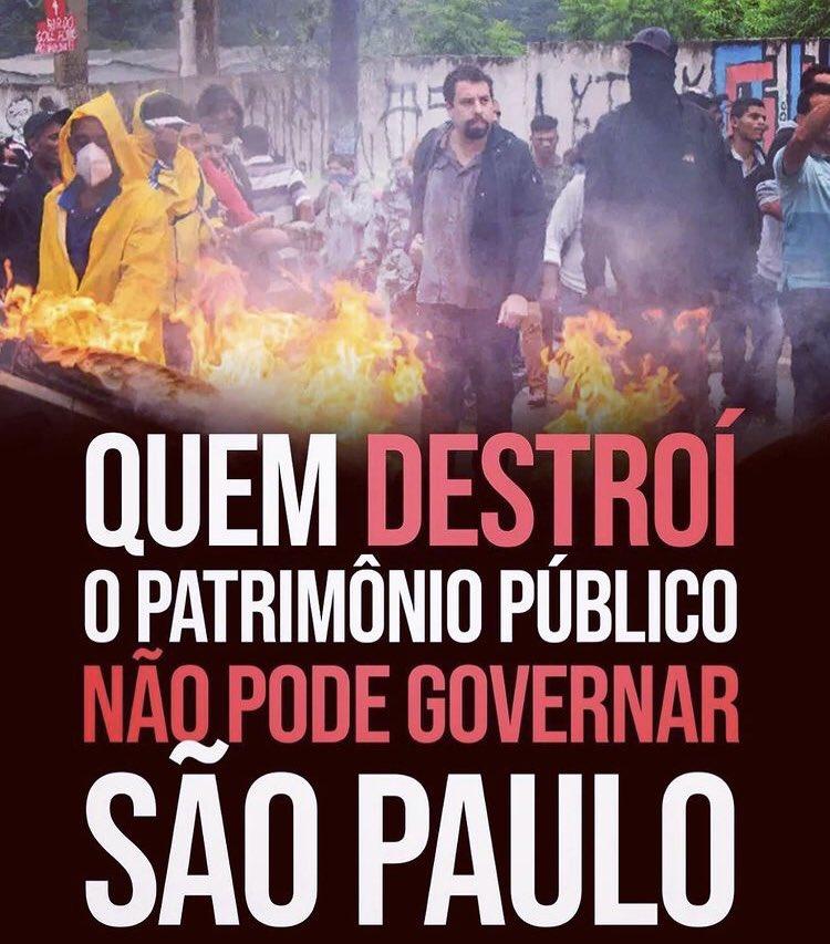 Me sinto ridícula ao falar: votem em @brunocovas  Não porque ele é o ideal para São Paulo, mas porque o outro candidato é uma desgraça para a maior cidade do Brasil!