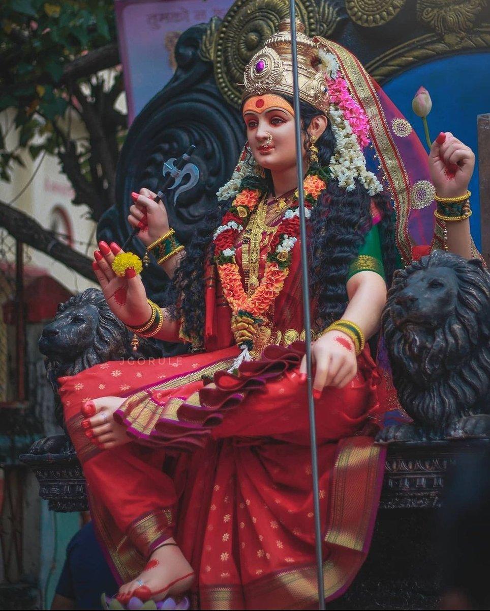 विलेपार्लेची माऊली #Navratri #MumbaichiNavratri https://t.co/Vn4FlgUKHF