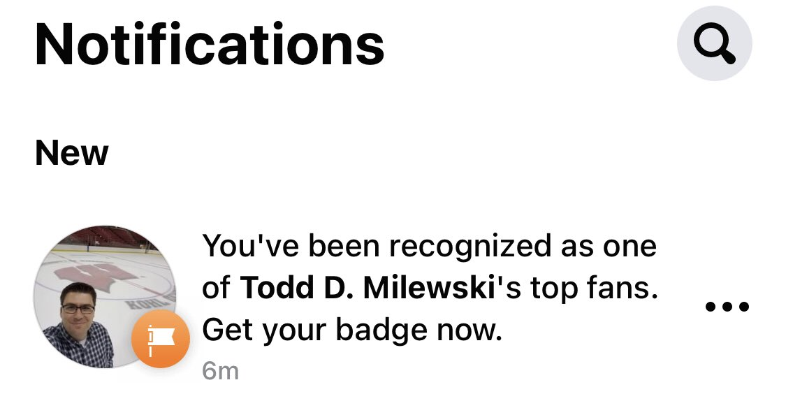 This might be the highest mark of distinction that I've ever received! @ToddMilewski #Badgers