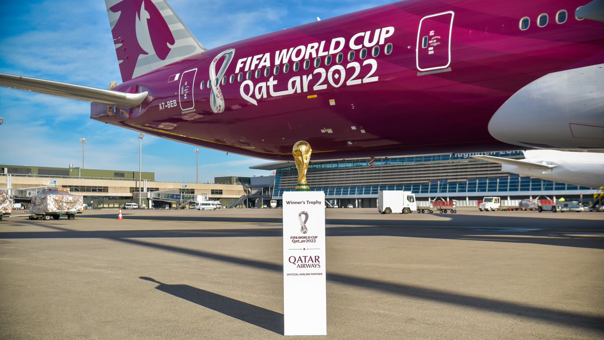 32 teams, 64 matches over 28 days and only one winner! Leave a comment with the flag emoji of the team that you hope wins the golden trophy on 18 December 2022.   #Qatar2022 #2YearsToGo #WorldCup   @FIFAWorldCup @roadto2022
