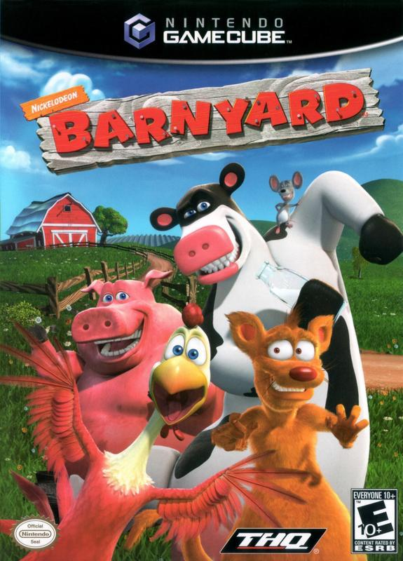 Explore the farm as an actual talking animal and meet select characters from the TV show Back At the Barnyard in Barnyard #tv #games #gamecube #gamers #fun