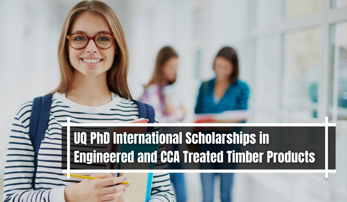 UQ PhD international awards in Engineered and CCA Treated Timber Products, Australia https://t.co/jH0d9BO266 https://t.co/LLbBNHPSND