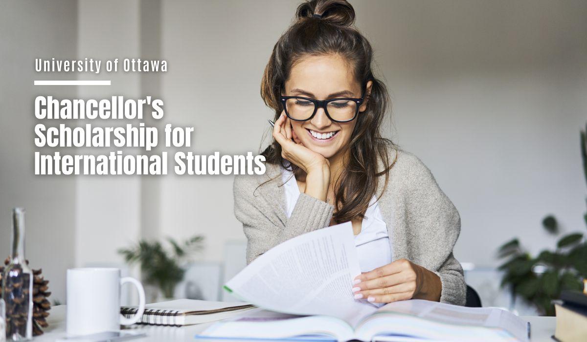 University of Ottawa Chancellor's funding for International Students in Canada, 2021 https://t.co/JC40wBDc4T https://t.co/7Qw7lAnqaV