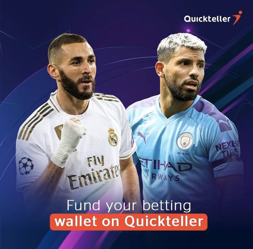 Champions League football is back! ⚽️ Are you excited? Rep your team with a GIF ⬇️  Don't forget to fund your bet wallet on Quickteller!😉 #EverythingIsPossible