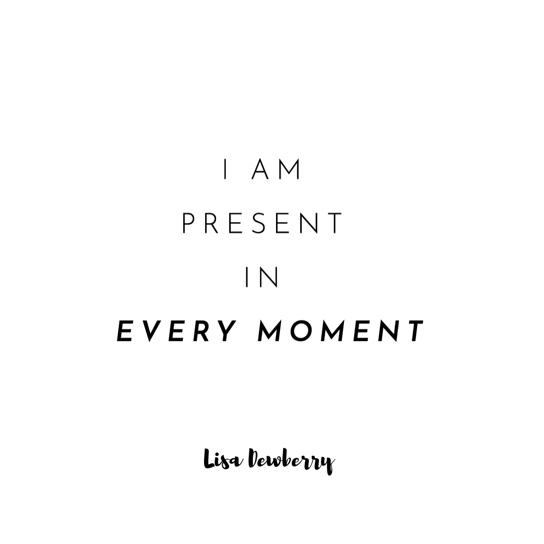 When you take notice of the current moment, absorbing and enjoying it for all it is, you live life to the full. May you experience so many moments of love, peace and happiness in your life.  #Present #Moment #Enjoy #Absorb #Happiness #PositiveActivists #NonProfits #LisaDewberry