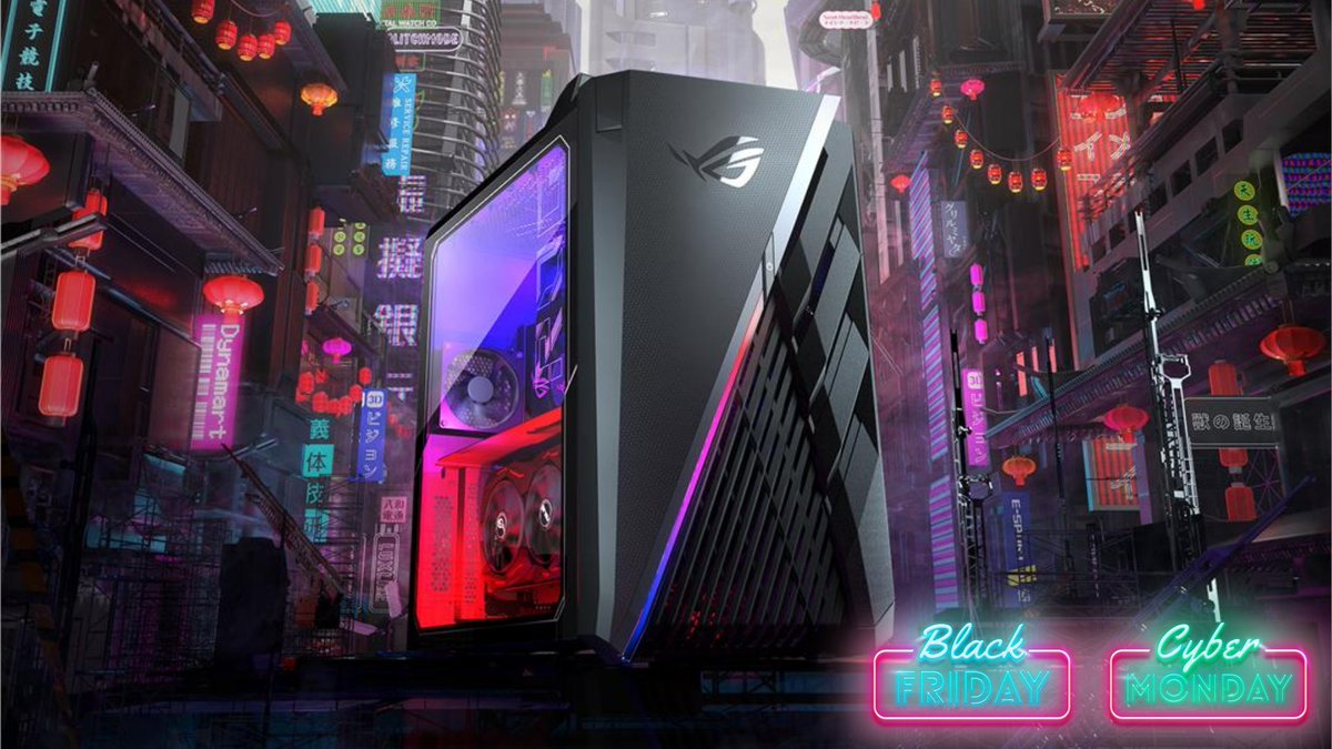 ASUSROG_UK - Looking for the perfect pre-build? 🔎  You can save up to £200 on the ROG Strix GT35 this #BlackFriday  Find all our #BlackFridayDeals here: