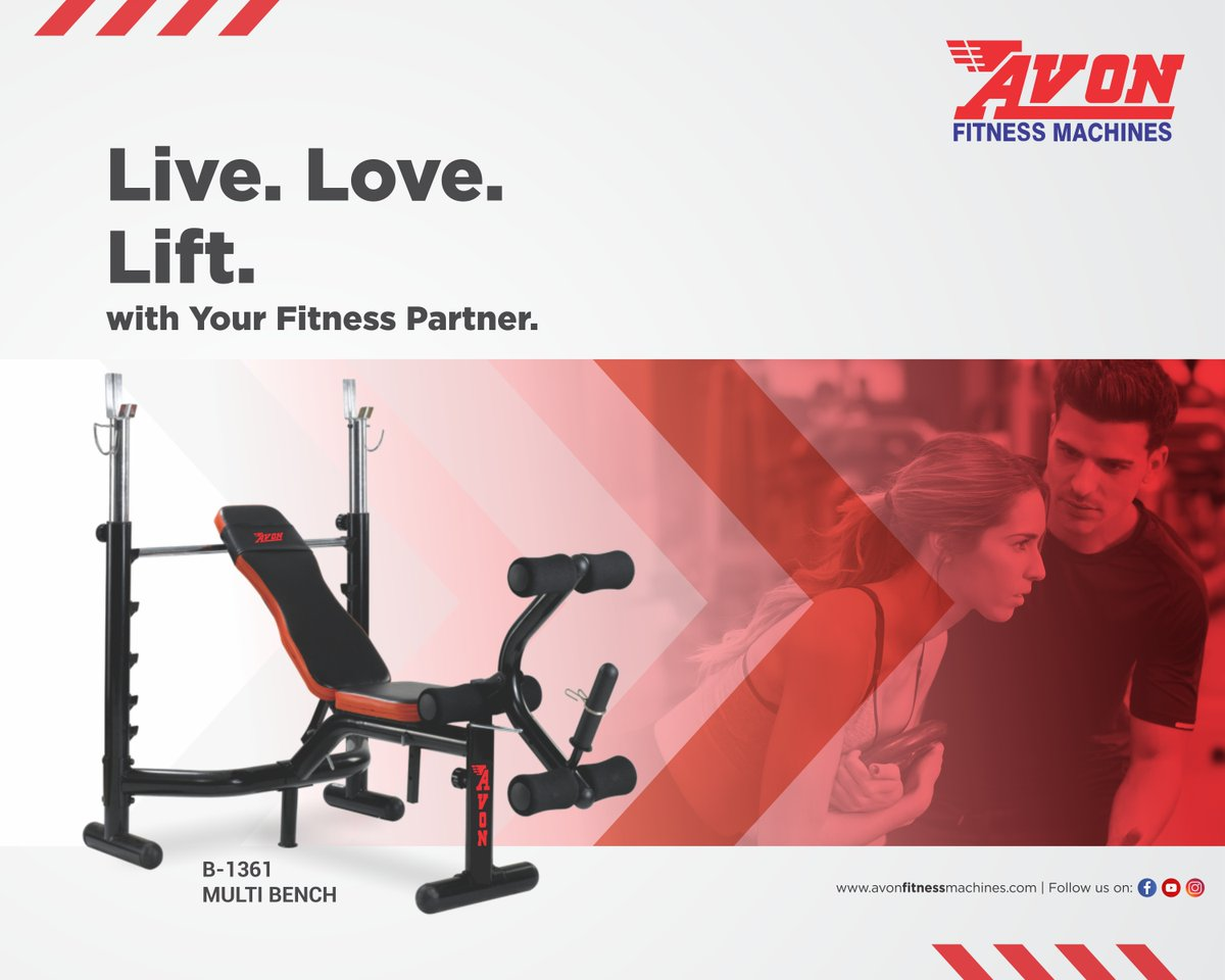 A balanced life is the key to happiness. And your partner is the means to that key! Get your Avon Fitness Machines today.  #AVON #Fitness #Gym #Workout #FitnessMachines #Treadmill #Cardio #GymEquipment #Dussehra #Health #Diet #CrossTrainer #UprightBike #Bikes #Cycles #SpinBike https://t.co/YVKR0oX09x