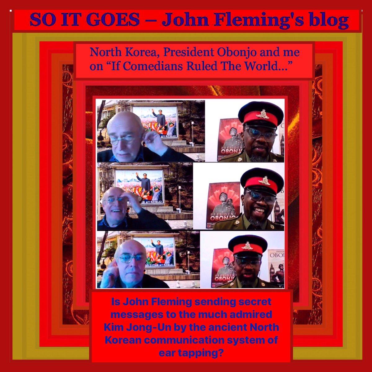 "#NorthKorea, President Obonjo & me on #podcast"" If Comedians Ruled The World...""  #thejohnfleming #blog  #toronto #vancouver #montreal #ottawa #calgary #quebec #winnipeg #edmonton #victoria #hamilton #regina #uk #presidentobonjo #ifcomediansruledtheworld   https://t.co/gpiBvWduCl https://t.co/S3HQRoXLDd"