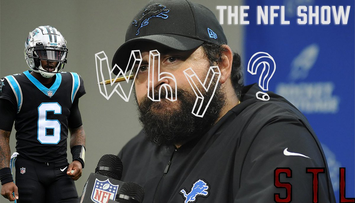 @StevenVanOver and @NoRemorseSports talk the Carolina Panthers vs Detroit Lions game and how low the Lions can go under Matt Patricia👀🚒 https://t.co/TUhDJAC20a  #NFL #CarolinaPanthers #KeepPounding  #DetroitLions #NFLweek11 #detvscar #sportstalkline https://t.co/Rb7ulSB2JK