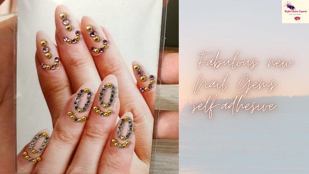 Fabulous Nail Gems, Self-Adhesive 💅💧💎💎 #nails #crystalnails #nailart #acrilicnails #longnails #instanails #nailsart #dopenails #instagood #crystalnails #blingnails #sparkles #bling #nailstagram #nails #swarovskinails #nailcrystals #nailgems #crystals #uñas #instanails #beauty