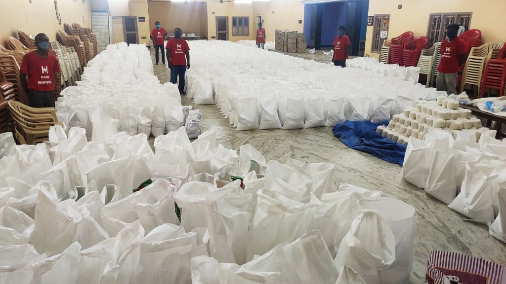 As part of our ongoing #COVID19 Relief efforts, we have supported 1500 families with Dry Ration & Hygiene Kits in #Bengaluru. #Covid19India
