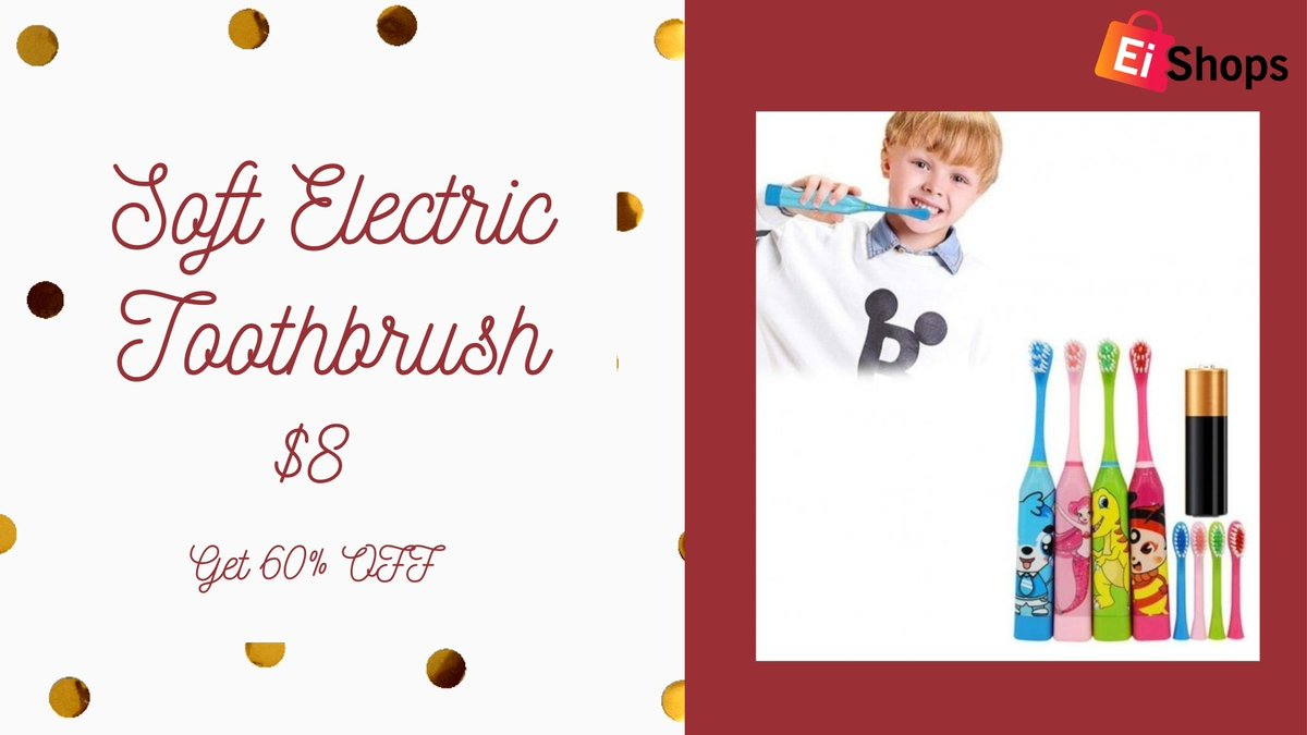 Soft Ultrasonic Electric Toothbrush🔥🔥 Visit :  #ElectricToothbrush #SoftUltrasonic #SaveSmash #DWTS #KARL700K #pocforcorpse #BTSxCorden #Christmas2020 #christmasGift #ChristmasGiftIdeas #christmasshopping #CHRISTMASTREES