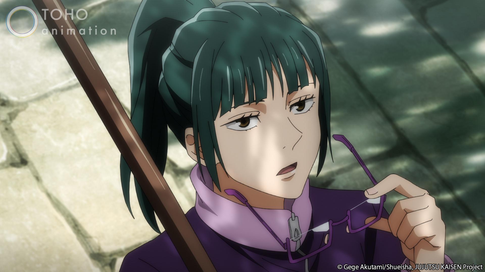 JUJUTSU KAISEN Maki Zenin - edad 17 años
