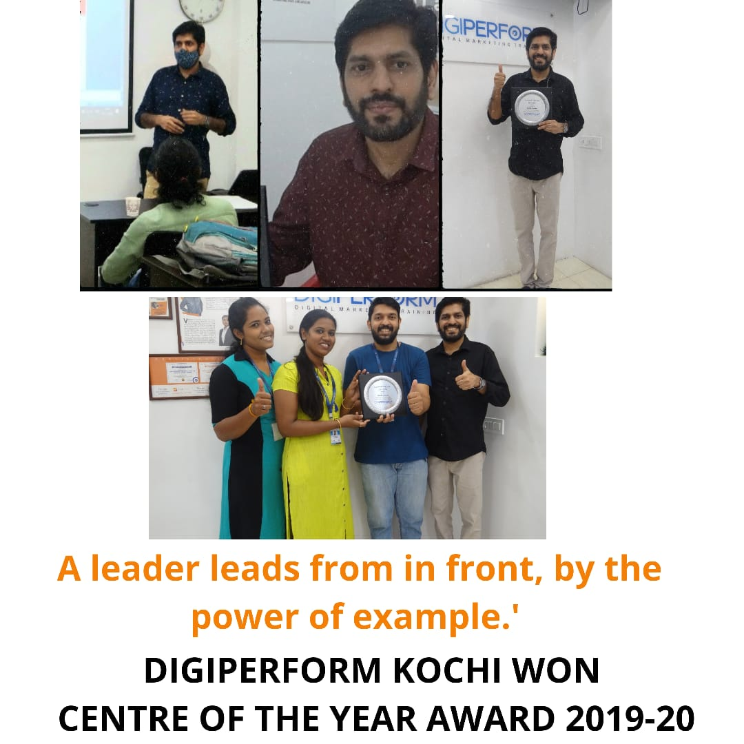 Won best centre award in India! Proud moments...  #celebrations #achievement #digiperformers #centeroftheyear #bestcenter #BestDigitalMarketingTraining #digiperform #kochi
