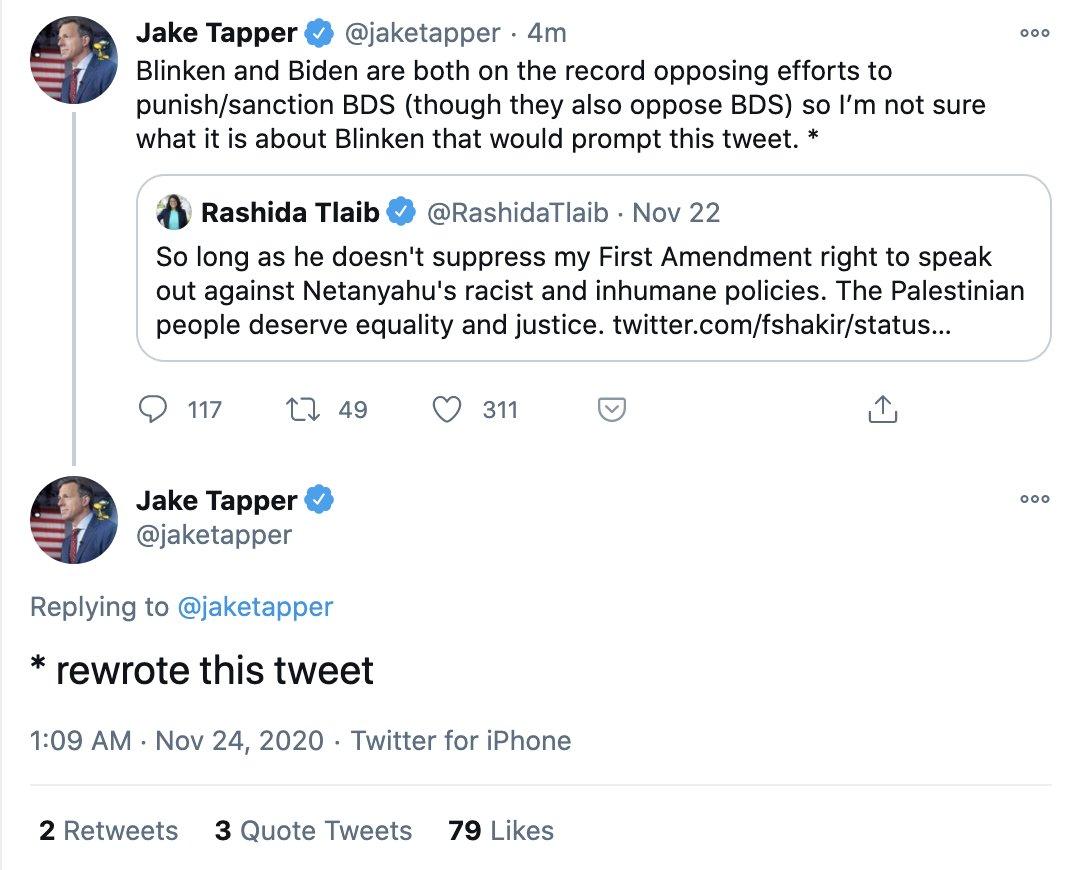 Jake tapper twitter