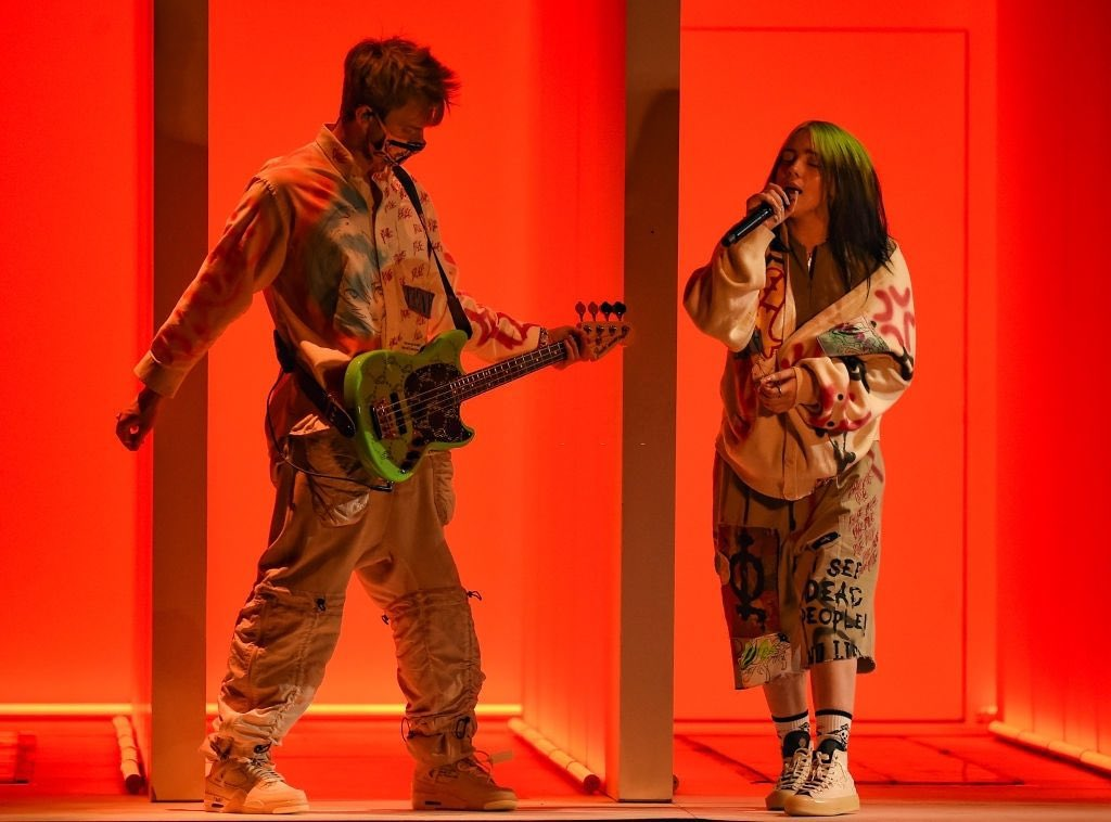 "watch billie perform ""Therefore I Am"" live at the 2020 #AMAs here:"