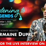 Image for the Tweet beginning: Jermaine Dupri is a 2020 inductee of