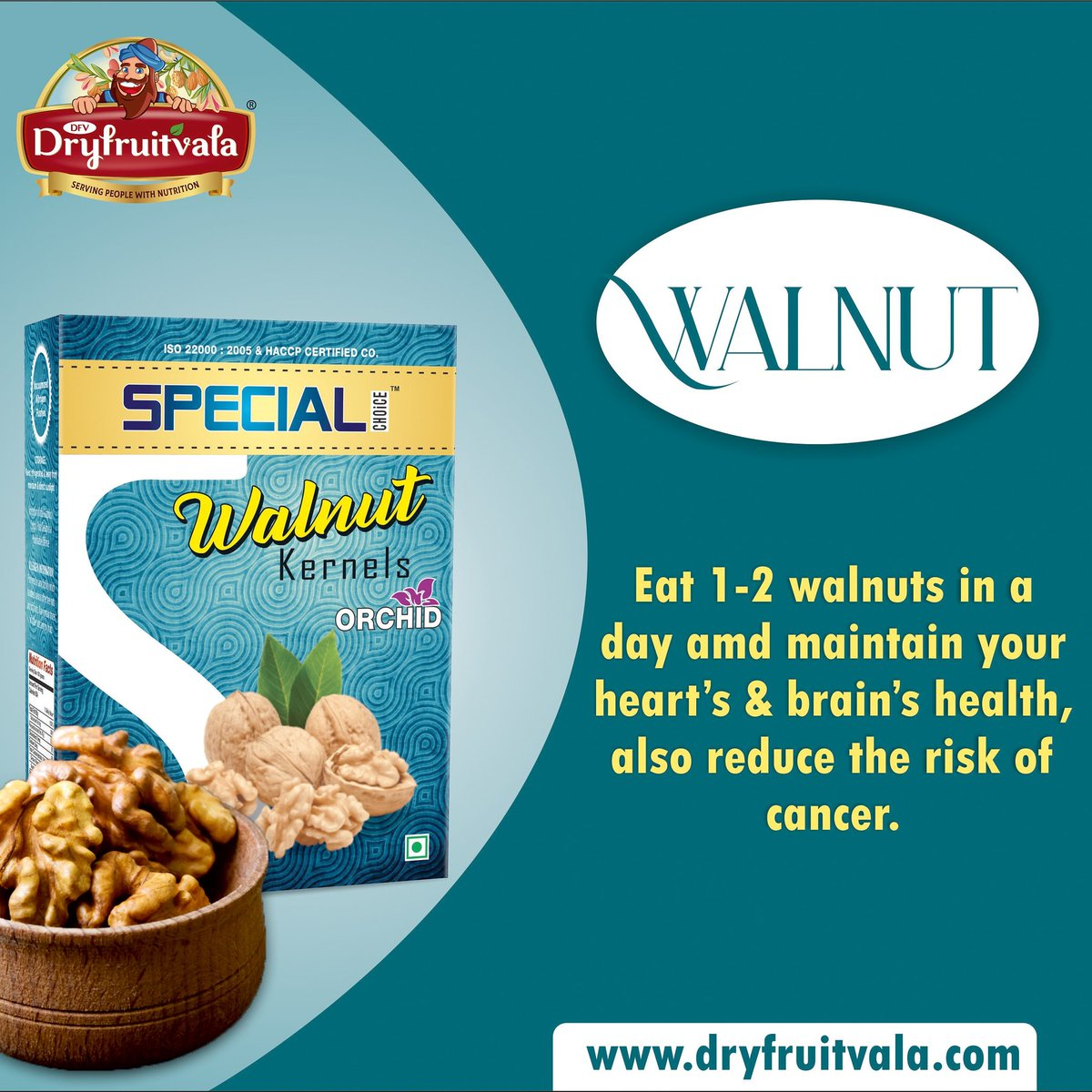 Have some walnuts today. Visit~ . . . . . #dryfruit #almond #cashews #chura #dates #khajoor #pistachio #pista #walnuts #Anjeer #dryfruits #dryfruitsandnuts #almonds #cashew #diwali #sale #gifts #dryfruits #love #picoftheday  #pic