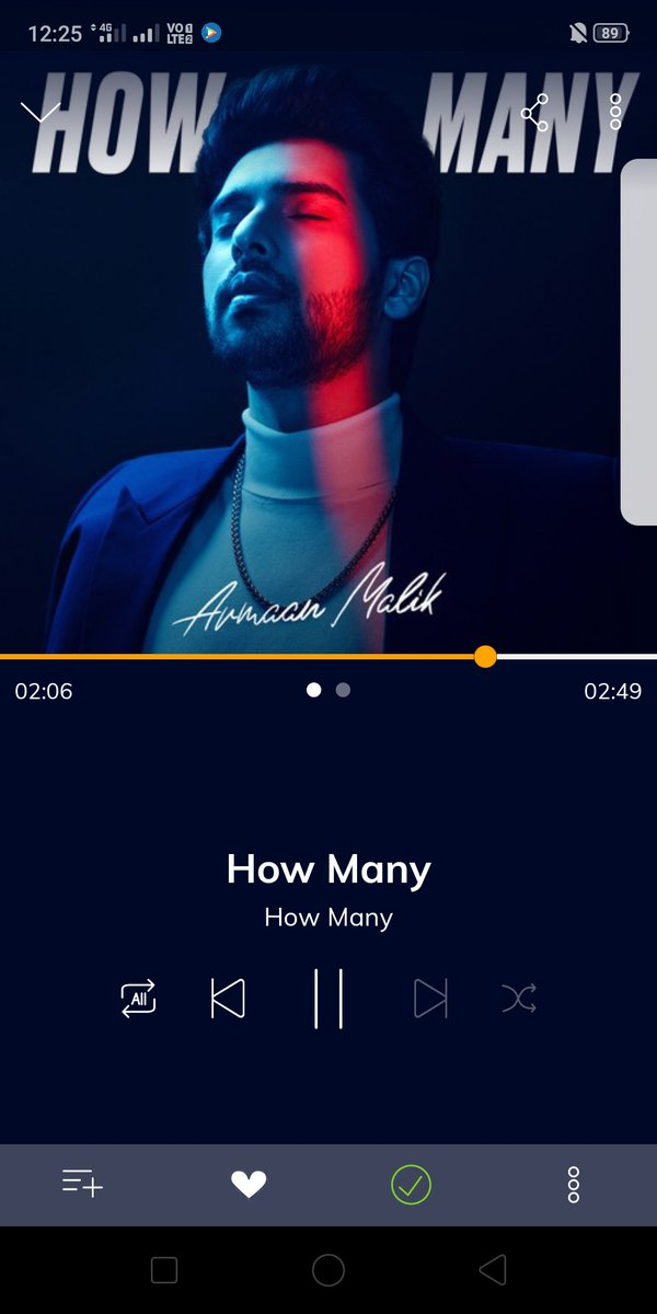 Replying to @simranaggerwall: #HowMany   @ArmaanMalik22 @Hungama_com