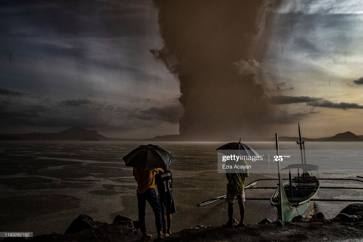 Taal Volcano eruption and coronavirus lockdown madness made it into @GettyImages @GettyImagesNews top 100 news pix of this crazy year  https://t.co/z06vjjrZel https://t.co/JThACsVDl8