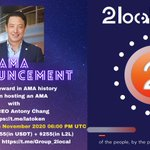 Image for the Tweet beginning: 📢 AMA Announcement  😍Highest Reward in