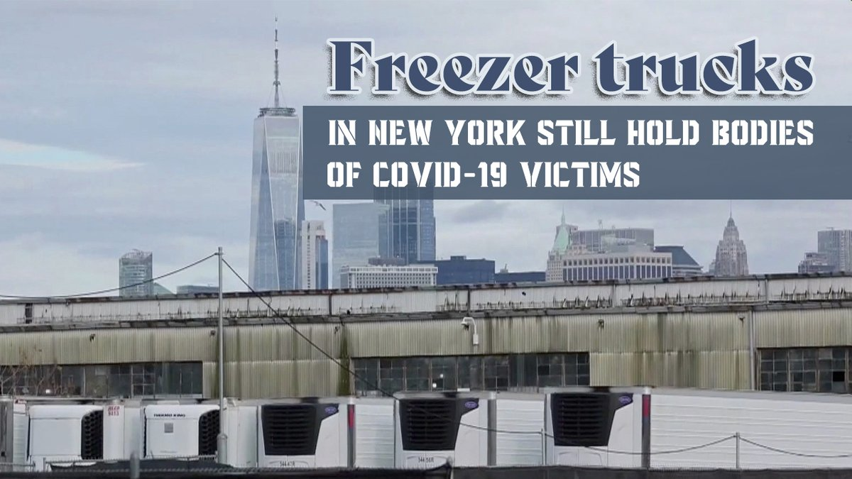 Dead bodies from spring #coronavirus surge still in NYC freezers