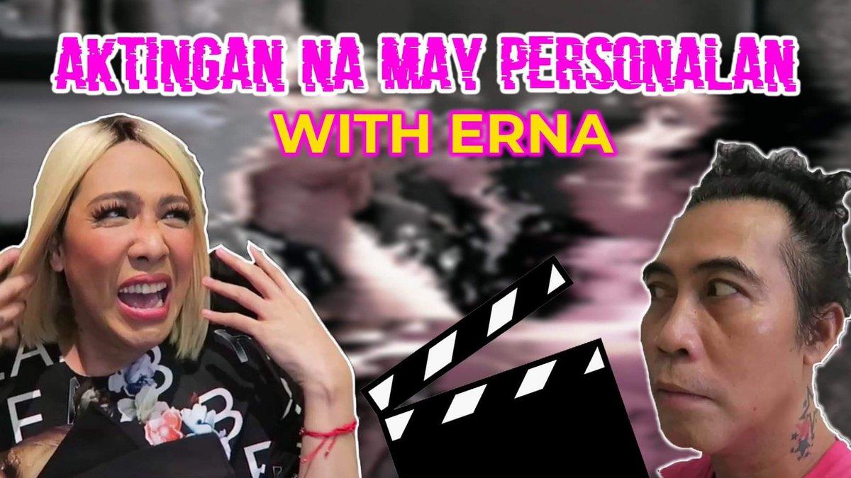 Watch watch muna ng Aktingan na may personalan with Erna vlog bago mag-siesta!! 🤪  Vlog link: