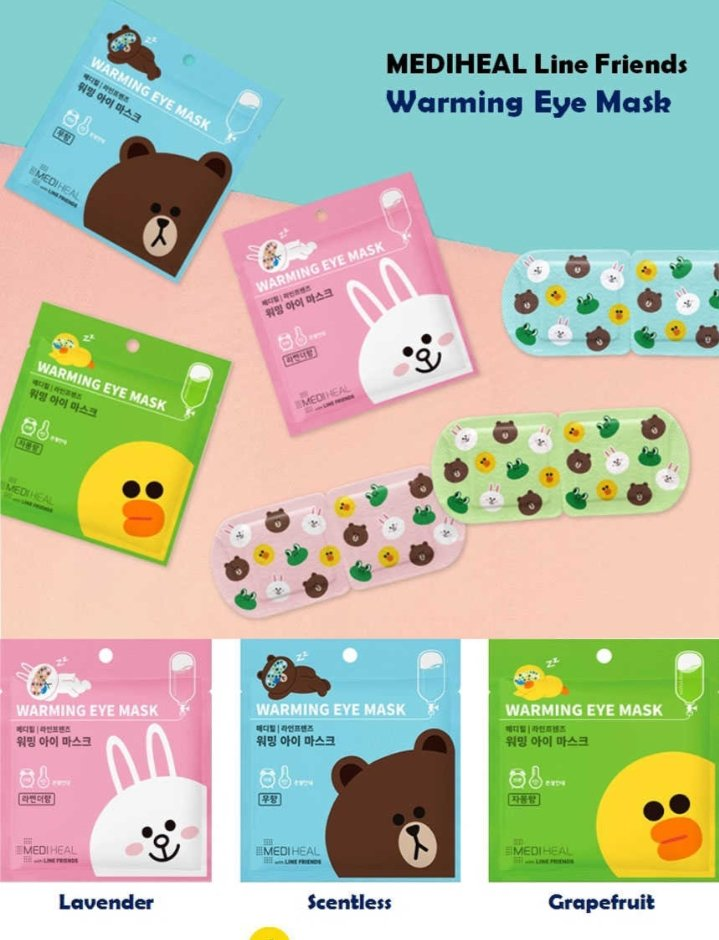 PREORDER II #SKMerch4U Help RT  •MEDIHEAL x Line Friends Warming Eye Mask 💸P700 (6 packs)   2pcs Lavender 2pcs Unscented 2pcs Citrus  DOO: December 5 DOP: December 5 NORMAL ETA Atleast P200 downpayment to secured 😊  TO ORDER: https://t.co/2QRkJiBGP0 https://t.co/a8w31P1rNc