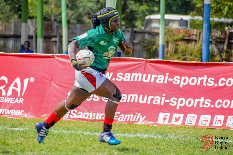 Originally a soccer player, Phila Olando made the move to rugby and is now captain of the @kenyalioness   Get to know more about Phila in the December 2020 edition of #GameLive   Available on this link https://t.co/F6ov9QG7GX https://t.co/y9vNxjbM1e