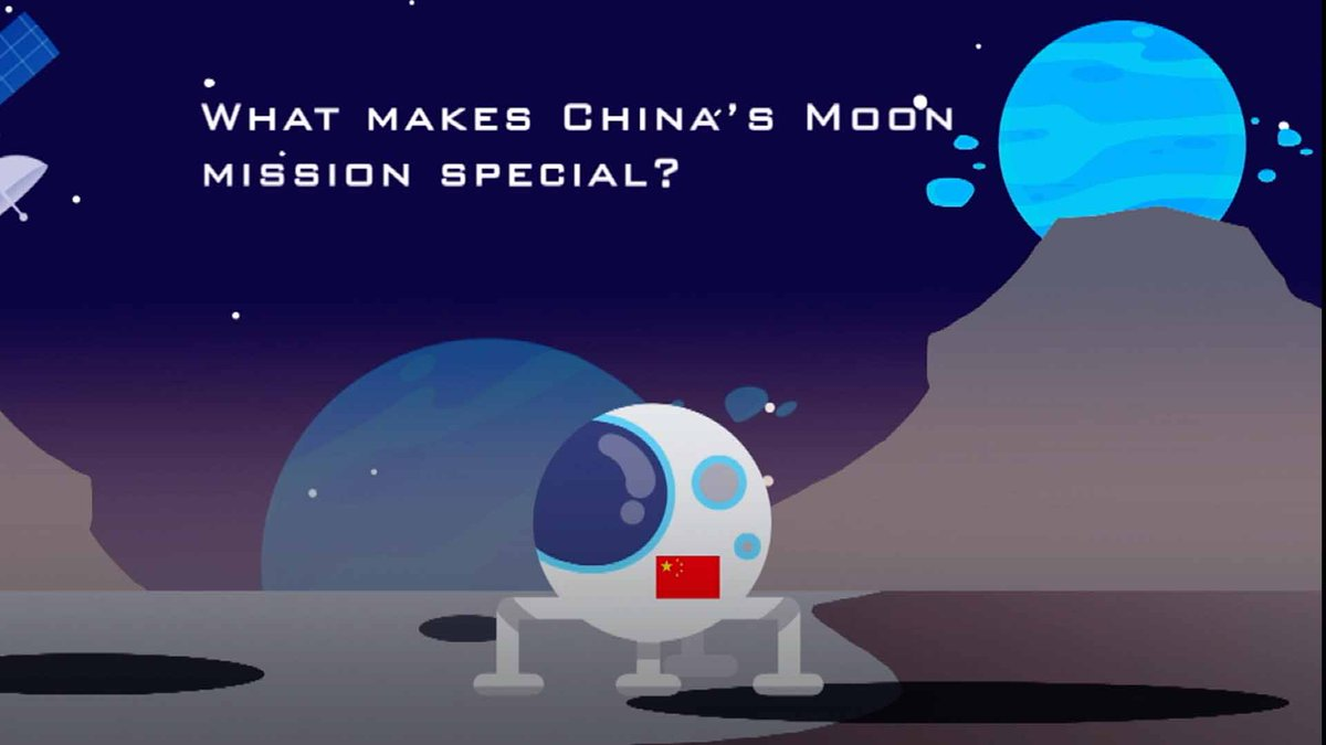 What makes the #China's Chang'e-5 mission special?